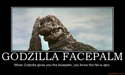 Epic facepalm...